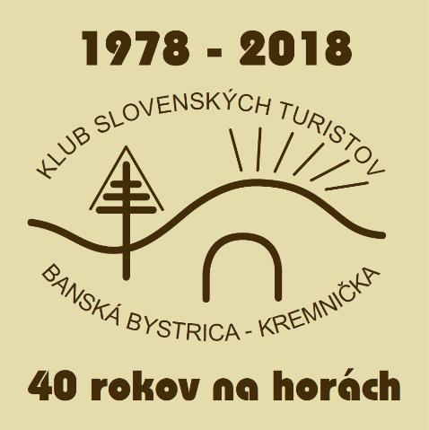 Kalendár turistických podujatí na sezónu JAR-LETO 2018 « KST Banská ... 671bf9edf58
