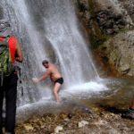 Kúpanie v Šútovskom vodopáde (autor foto: Arpád Takács)