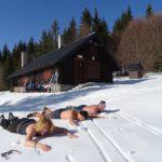 Relax počas lyžiarskej túry na Malej poľane (autor foto: TT)