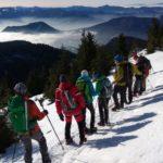 Zimná inverzia spod Choča (autor foto: Arpád Takács)