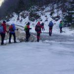 Ľad na zvážnici (autor foto: Arpád Takács)