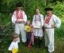 Rozprávkový les v Kremničke - Na salaši u Aničky, Maťka a Kubka (zľava: Tomáš, Marika a Maroš)
