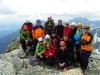 Vysoké Tatry - Lomnický štít, Zraz VhT; na foto nie sú všetci účastníci výstupu (foto: TT)