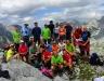 Albánsko - Prekliate hory - Maja Arapit, 2218 m, spolu so slovinskými turistami (foto: TT)