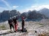 Taliansko - Dolomity - výstup na Lagazuoi nad sedlom Falzarego (foto: EvkaM)