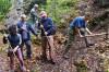 Brigádnici na cvičných skalách za Kremničkou (autor foto: PeterC)