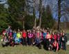 Veporské vrchy - Hruškovo, otvorenie sezóny, na fotke nie sú všetci účastníci (autor foto: TT)