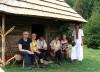 Veporské vrchy - Detvianska Huta, laz Štoliansko, pred najstaršou funkčnou kolibou slovenských Karpát (autor foto: TT)
