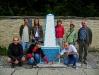Ukrajina - geografický stred Európy pri Dilovom (autor TT)