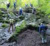Brigáda na cvičných skalách za Kremničkou (autor foto: TT)