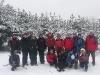 Kremnické vrchy - silvestrovský výstup na Trávny Ždiar
