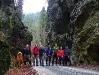 Veľká Fatra - Čierna dolina, skalná brána Vrátenec pri Harmanci (foto: TT)