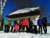 Starohorské vrchy - salaš na Kráme, na foto chýba Ondro a Ria (foto: TT)