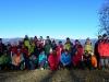 Bystrická vrchovina - Stará kopa, na zábere nie sú všetci účastníci (autor foto: TT)